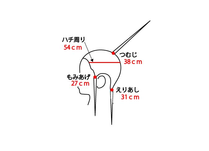 カットウィッグ35